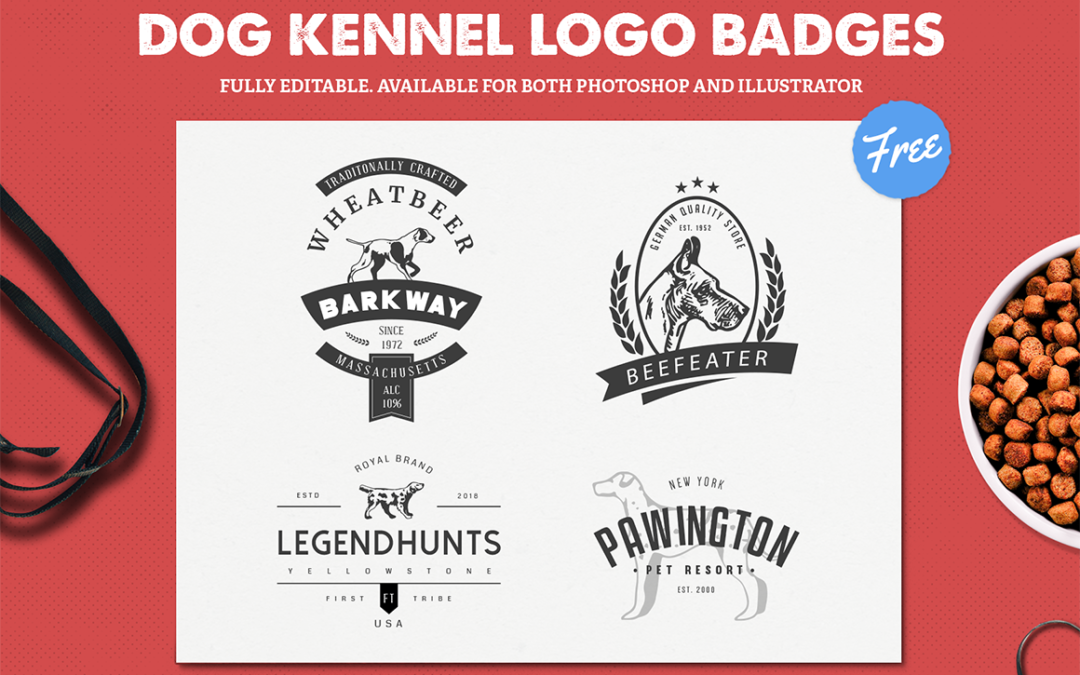 Dog Kennel Logo Templates