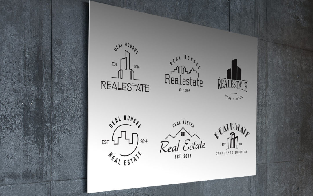 Real Estate Retro Vintage Badges