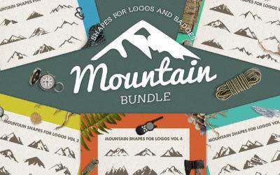 Mountain Shapes For Logos Bundle