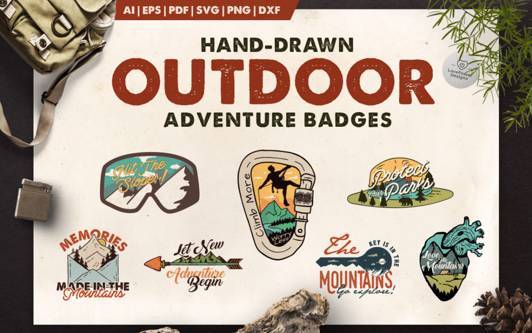 Outdoor Adventure Logos / Badges