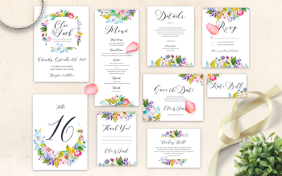 Free Wedding Invitation Set