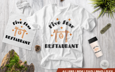 Camping SVG | Five Strar Restaurant SVG | Camp SVG