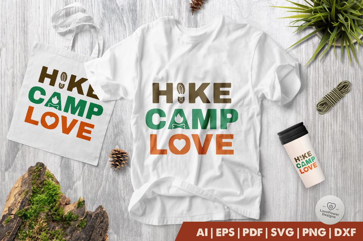 Camping SVG | Hiking SVG | Hike Camp Love SVG | Camp SVG