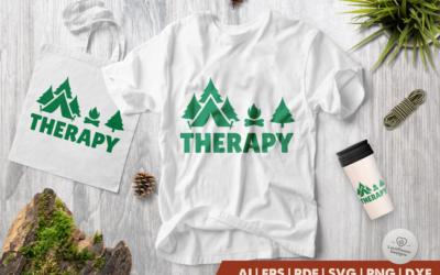 Camping SVG | Camping Therapy SVG | Camp SVG | Therapy SVG