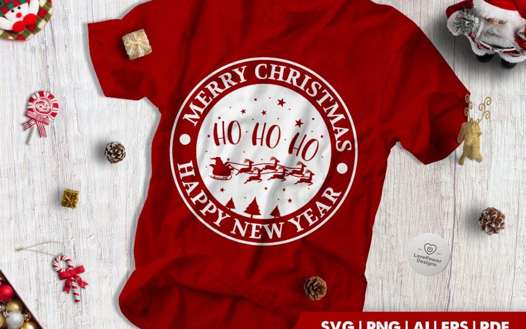FREE Christmas SVG | Merry Christmas | Ho Ho Ho