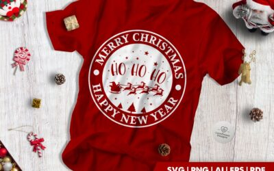 FREE Christmas SVG | Merry Christmas | Ho Ho Ho