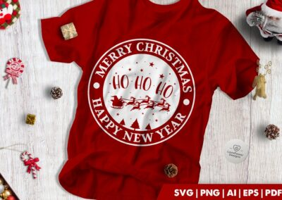 Christmas SVG | Merry Christmas | Ho Ho Ho | Happy New Year
