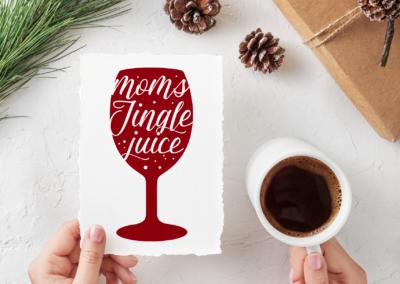 Christmas SVG | Moms Jingle Juice SVG