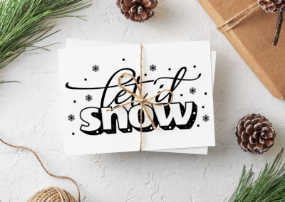 Christmas SVG | Let It Snow SVG