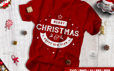 Christmas SVG | Merry Christmas Happy New Year