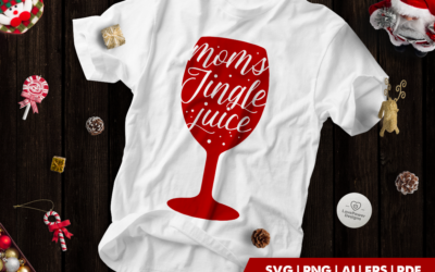 Christmas SVG | Moms Jingle Juice SVG | Fun Christmas Gift