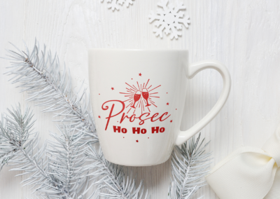 Christmas SVG | Prosec Ho Ho Ho SVG