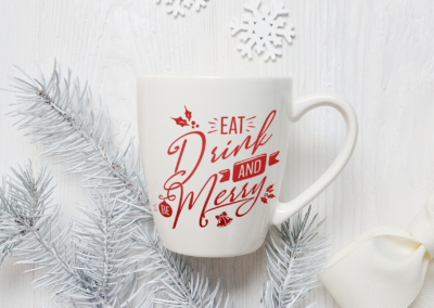 Christmas SVG | Eat Drink And Be Merry SVG