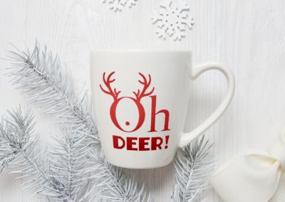 Christmas SVG | Oh Deer SVG