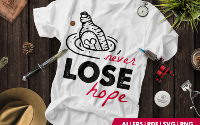 Halloween SVG | Tattoo SVG | Tattoo T-shirt | Never Lose Hope