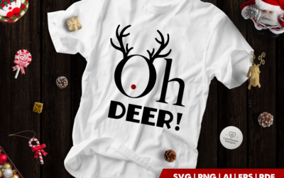 Christmas SVG | Oh Deer SVG | Christmas Holidays SVG