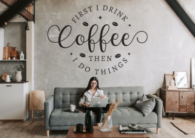 Coffee SVG | First I Drink Coffee Then I Do Things SVG