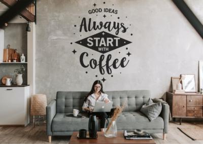 Coffee SVG | Good Ideas Always Start With Coffee SVG