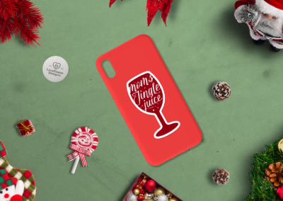 Christmas Stickers Bundle | Print and Cut Stickers SVG | PNG Vol2