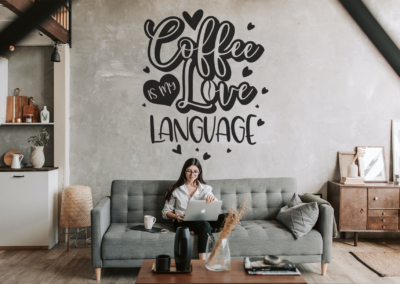 Coffee SVG | Coffee Is My Love Language SVG | Coffee Quotes